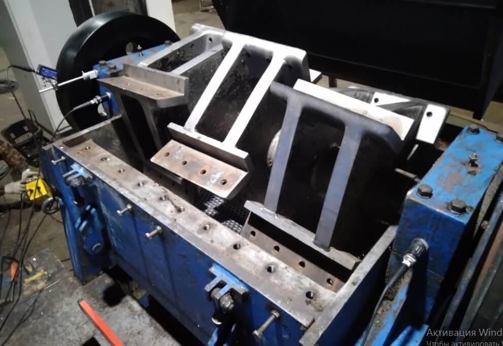 Измерение вибраций на роторных дробилках
