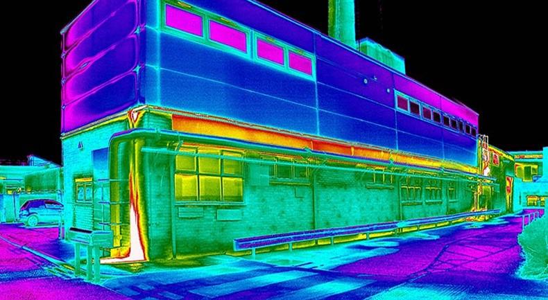 Обследование тепловых потерь