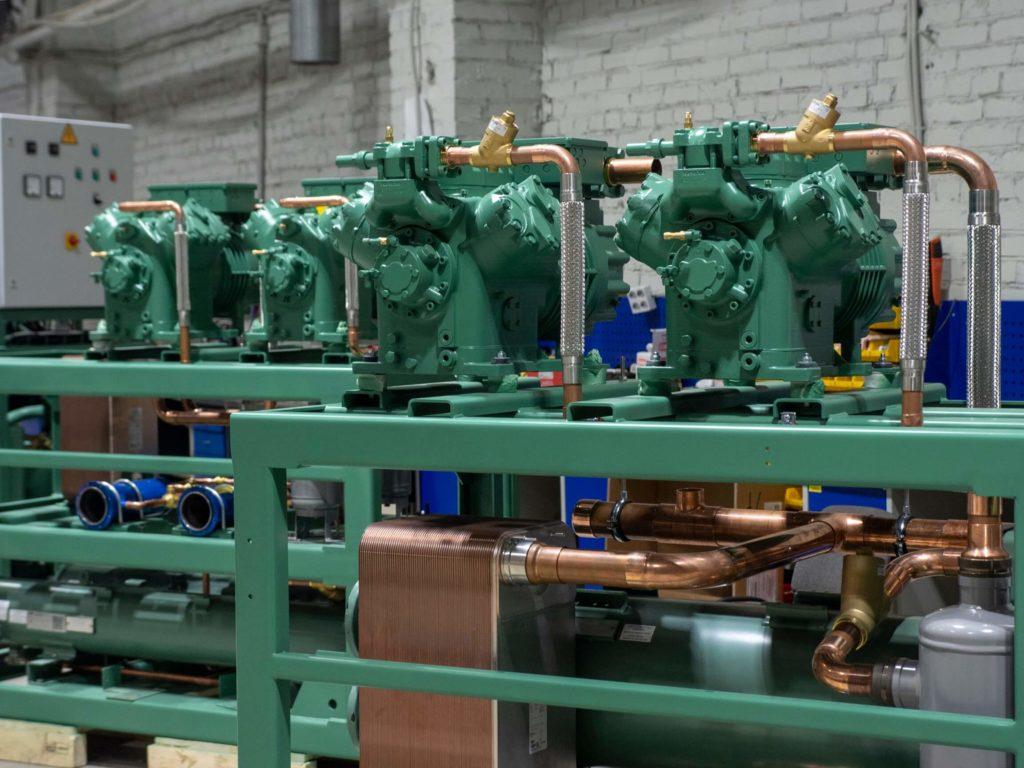 Производство морских чиллеров