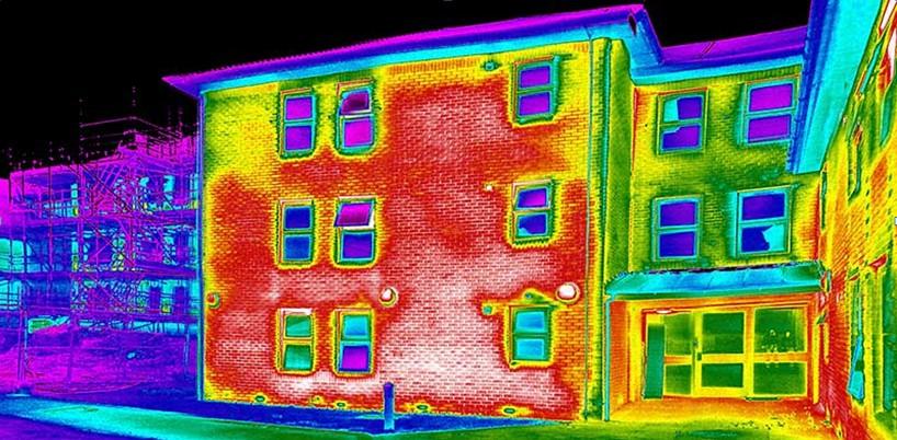Тепловизионное исследование изоляции дома